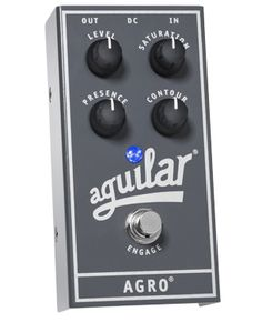 Aguilar Agro is my bass distortion of choice.
