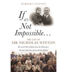 There are around 6000 people in the world today who owe their lives to Nicholas Winton. This book explores the influences on his character as well as the historical events he was caught up in. Taken from his historical letters and writings, Winton's own words are introduced to convey the atmosphere of many of his diverse experiences.