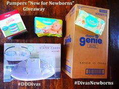 "Pampers ""New for Newborns"" Prize Pack"