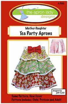 tea party aprons