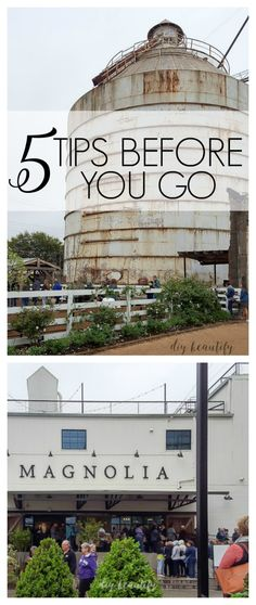 5 tips to make the most of your visit to Magnolia Market!You can find Magnolia farms and more on our tips to make the most of your visit to Magnolia Market! Magnolia Waco Texas, Magnolia Market Waco, Magnolia Farms, Texas Vacations, Vacation Trips, Texas Travel, Travel Usa, Casas Magnolia, Silo House