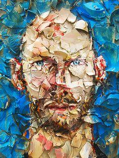 """Julian Schnabel (nacido en Nueva York el 26 de octubre de 1951) es un pintor y director de cine estadounidense de origen judío. Como artista plástico se dio a conocer por sus plate paintings (""""pinturas con platos"""", en español), que han recibido críticas dispares, y suele clasificársele como parte del movimiento denominado Bad Painting (pintura mala), que es una de las corrientes del neoexpresionismo. Su obra se exhibe en muchos de los principales museos del mundo."""