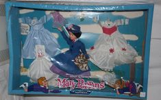 Vintage Horsman Mary Poppins Gift Set Still SEALED Doll with Outfits 1964 | eBay
