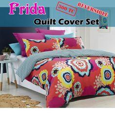 300TC Frida Reversible #QuiltCover Set