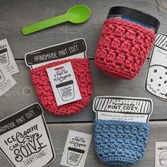 3 in 1 Crochet Scrunchies Pattern – Savlabot Ice Cream Tubs, Knit Beanie Pattern, Yarn Bee, Wrap Pattern, Lacey Pattern, Bobble Stitch, Yarn Tail, Yarn Sizes, Circular Knitting Needles