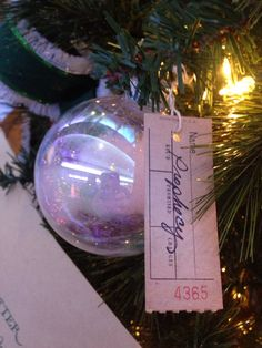 Harry Potter prophecy ornament by Raven and Rowan