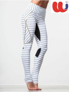 9fb020e17 You'll be ready to battle any workout when you slide into these  pinstriped