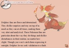 Pokemon Personalities: #655 Delphox