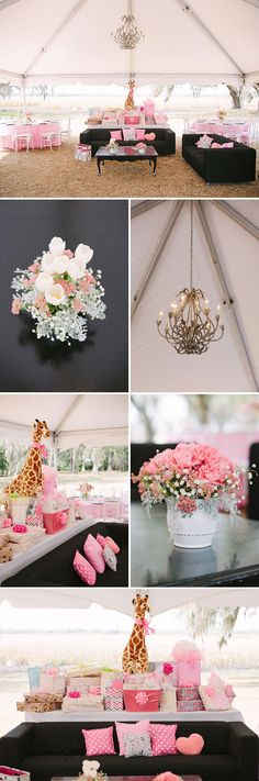 Beautiful Southern Baby Shower in Pink