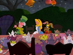 """""""Alice in Wonderland"""" (1951) """"Clean cup! Clean cup! Move down, move down, move DOOOWWWNN!!!!!"""""""