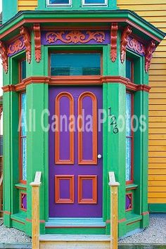 Door, Lunenburg, Nova Scotia, Canada