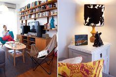 Deco: un departamento con mucho arte y diseño