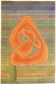 Paul Klee, Lonely Flower, 1934