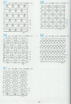 Padrões de crochet