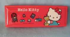 Hello Kitty Pencil Case, $145 | The 13 Most Ridiculously Expensive Vintage School Supplies OneBay