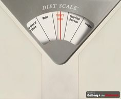 Great scale: instead of showing the weight, this scale tells the person what to eat according to the weight !!!