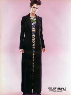 Atelier Versace F/W 1996/97, Model: Chandra North
