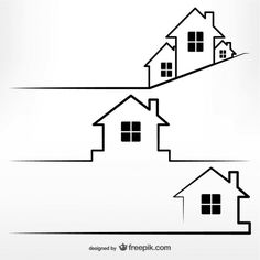 Real estate concept template Free Vector