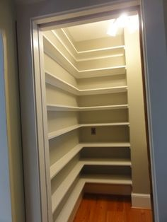 1000 Images About Pantry Shelving On Pinterest Pantry