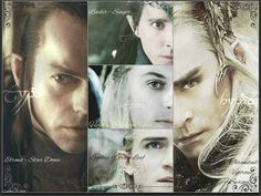 Five Elves of Middle Earth