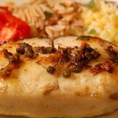 Capers and Halibut A