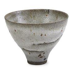 """LUCIE RIE (1902-1995)Small glazed stoneware flaring bowl, England, 1970s; Signed LR; 3"""" x 3 3/4"""":"""