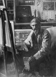 Torres García - A partir de 1928 y de su vinculación con Mondrian y Van Doesburg, promotores del sintético neoplasticismo, comienza a introducir en sus pinturas el entramado ortogonal que continuará desarrollando durante el resto de su vida.