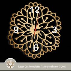 Laser cut wall clock / coaster templates, buy online now, free vector designs every day. Clock Template, Scroll Saw Patterns, Vector File, Coaster Set, Vector Design, Laser Cutting, Free Design, Clocks, Templates
