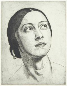 Laura Knight pastels portrait sketches - Google Search