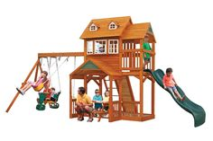 Palisade Swingset. Can't wait to get one of these for the new house.
