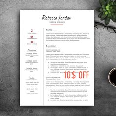 Creative resume template for word pages complete 123 pages complete 123 pages resume template professional cv template elegant cv creative resume yelopaper Choice Image