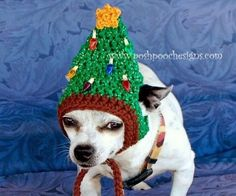 You'll love this collection of FREE Crochet Dog Hat Patterns. They'd make a beautiful gift as well. Check out the Knitted Dog Hat Free Patterns and the Cat Hats too!