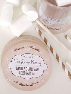 Personalized Holiday Coasters for Chanukah | Evermine Blog | www.evermine.com #hanukkah