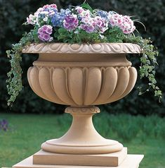 Haddonstone is renowned for quality, british made cast stone garden ornaments. Brighten up your garden or home with our elegant Stone Planters, Urn Planters, Flower Planters, Flower Pots, Diy Garden Fountains, Garden Urns, Fenced Garden, Outdoor Fountains, Backyard Water Feature
