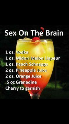 "zovest: ""justmelvin: ""aintnosuchthingastoothick: ""bigchiefatl: ""Weekend drink ideas "" Death by Sex sounds wavy "" Hmmm "" Drank "" Cocktail Vodka, Cocktail Recipes, Vodka Slush, Liquor Drinks, Non Alcoholic Drinks, Acholic Drinks, Liquor Bar, Fruity Drinks, Refreshing Drinks"