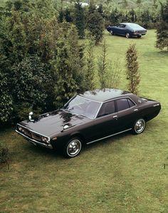 Nissan Skyline (C110) '1972–77 2015 Nissan Gtr, Nissan Gtr Skyline, Retro Cars, Vintage Cars, Japanese Domestic Market, Nissan Infiniti, Japan Cars, Jdm Cars, Sexy Cars