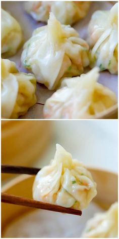 Shrimp Wontons - Super easy recipe with fresh shrimp wrapped with wonton skin and then boiled/steamed to be served with ginger vinegar sauce. Easy Wonton Recipe, Wonton Wrap Recipes, Wonton Filling Recipes, Wonton Wraps, Meat Recipes, Cooking Recipes, Wonton Skins, Steamed Shrimp, Fishing