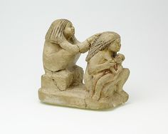 Group of two women and a child | Middle Kingdom–Early New Kingdom | The Met