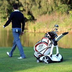 Automatic Following Golf Trolley #Automatic, #Bluetooth, #Golf