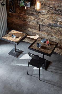 Osteria Del Maniscalco - Picture gallery #architecture #interiordesign #black #wood
