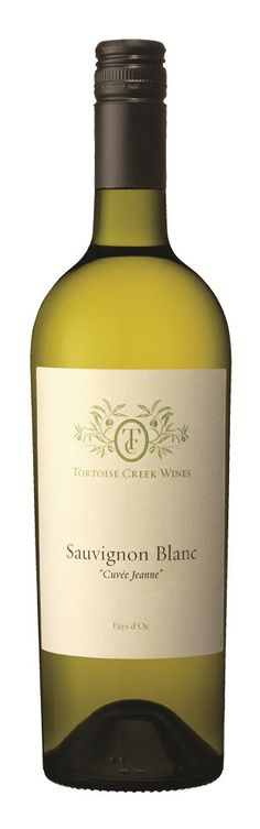 """Tortoise Creek Sauvignon Blanc has a pale, bright yellow color, with a very intense nose. It expresses all the flavors of Sauvignon Blanc, mixing together citrus fruit and black currant leaf. This wine will be best as an aperitif or with salads, seafood and softer cheeses.   """"Cuvée Jeanne"""" refers to """"Janie's Blend""""  http://www.winesellersltd.com/wine-brand/Tortoise%20Creek%20France.html"""