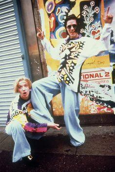 Rave : Kids wearing Joe Bloggs clothing, Manchester 1989