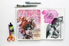@kahlert | Season of Introspection | Get Messy Art Journal