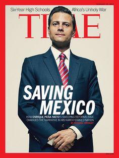 portrait of Mexican President Enrique Pena Nieto