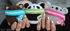 2000 Free Amigurumi Patterns: Teddy ornaments crochet pattern