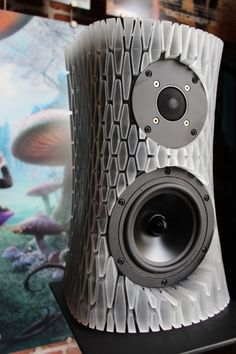 Awesome 3D Printed Speaker, Posted at http://3DPrintBoard.com