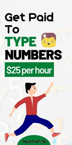 Get paid to type simply staying at home. Interested and ready to type for money? Work From Home Companies, Online Jobs From Home, Work From Home Opportunities, Online Work, Ways To Earn Money, Earn Money From Home, Earn Money Online, Way To Make Money, Money Fast