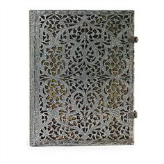 silver filigree natural ultra journal by hartley & marks