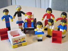 Meisjes Lego jaren 70