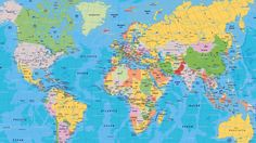 Printable world map labeled world map see map details from ruvur image for globe world map wallpaper 04 gumiabroncs Image collections